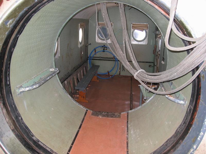 Visió interior radiotelescopi