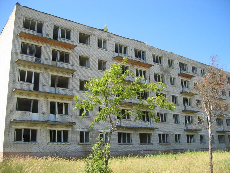 Edifici fantasma, radiotelescopi