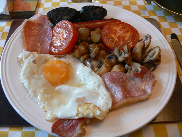 Esmorzar a The Moorings