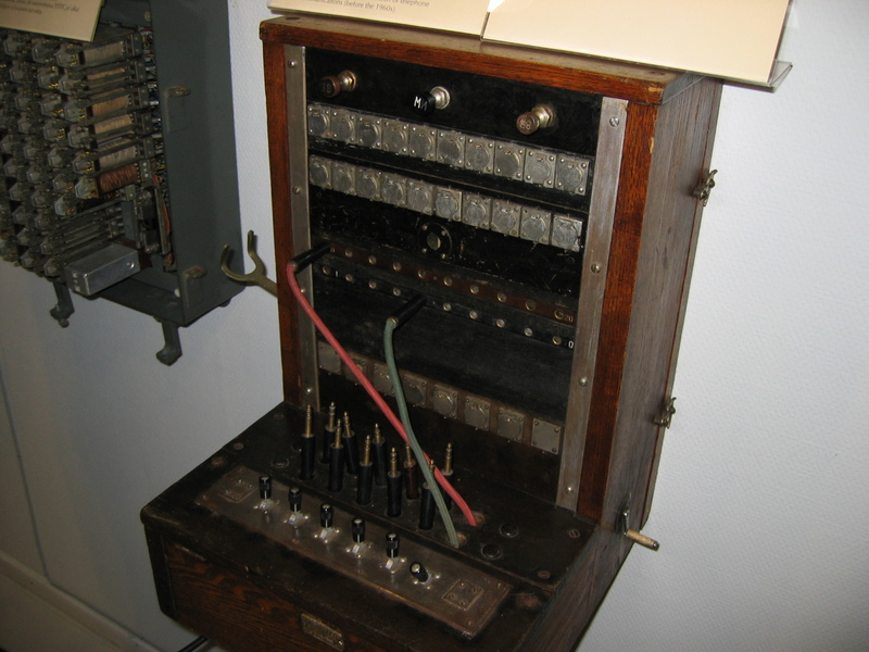 Centraleta de telefonia manual